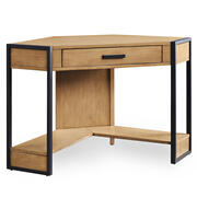 Metal and Wood Corner Desk #92430 Product Image