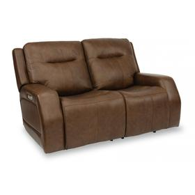 Duke Power Reclining Loveseat with Power Headrests