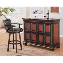 """See Details - BAR TABLE,TWO TONE/F 54""""LX24'WX42""""H"""