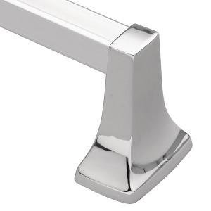 "Contemporary chrome 18"" towel bar Product Image"