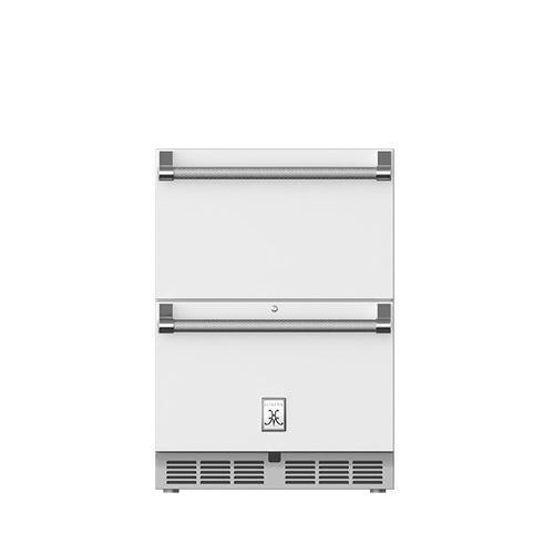"Hestan - 24"" Hestan Undercounter Refrigerator Drawers - GRR Series - Froth"