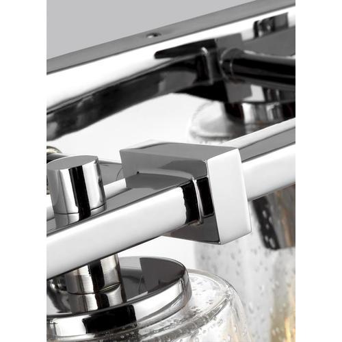 Mercer 4 - Light Vanity Chrome