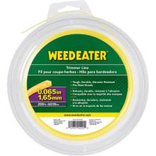"Weed Eater Trimmer Lines .065"" x 200' Shaped Trimmer Line"