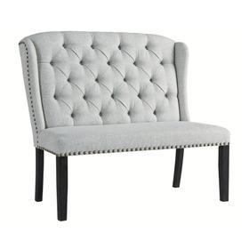 Jeanette Upholstered Bench Linen