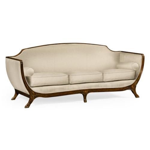 Empire style sofa (Walnut/MAZO)