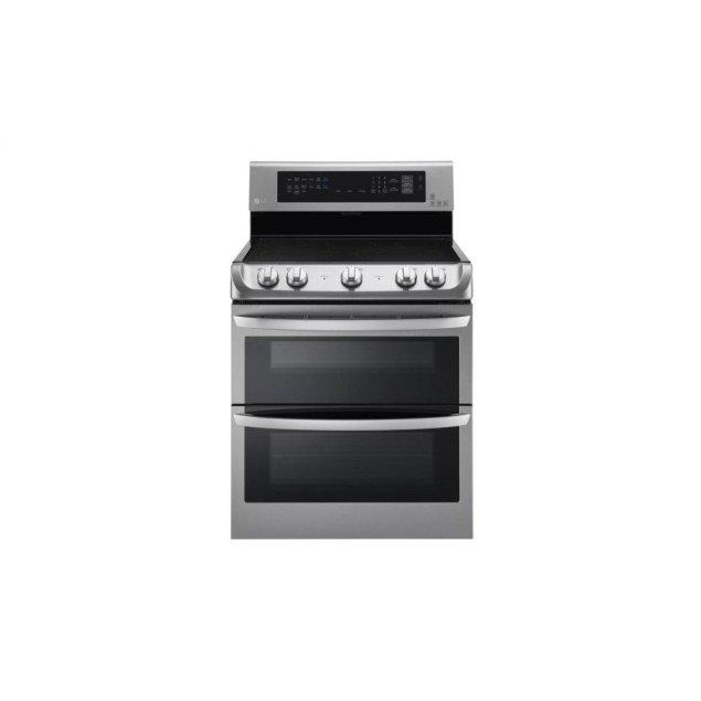 LG Appliances 7.3 cu. ft. Electric Double Oven Range with ProBake Convection® and EasyClean®