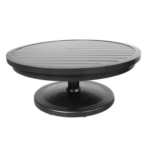"""Monaco 42"""" Round Pedestal Coffee Table"""