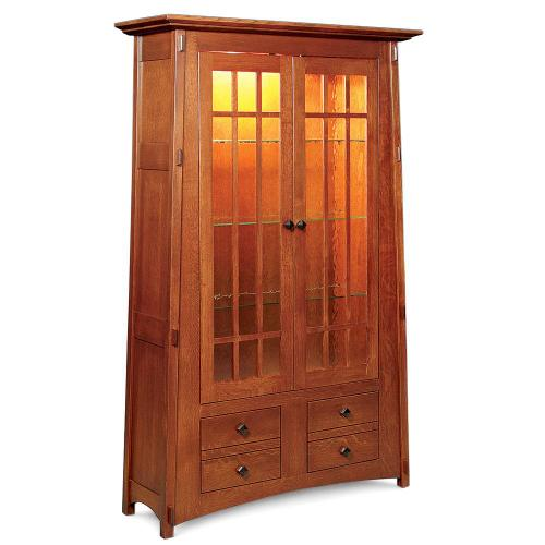 Gallery - McCoy Bookcase with Glass Doors