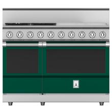 "See Details - 48"" 4-Burner All Gas Range with 24"" Griddle - KRG Series - Grove"