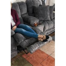 See Details - Branson Power Lay Flat Reclining Console Loveseat w/Extended Ottoman