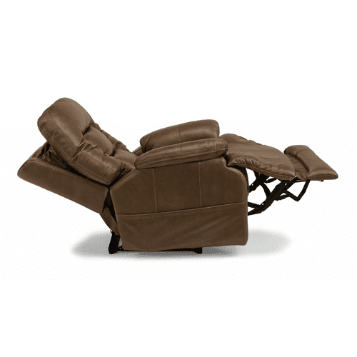 Stanford Leather Power Recliner with Power Headrest