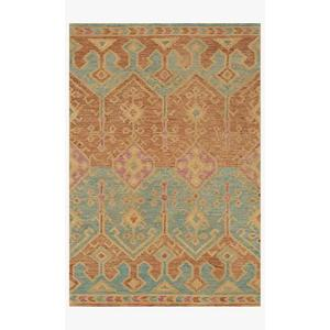 Gallery - GQ-02 Spice / Teal Rug