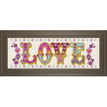 """First Love"" By Tom Frazier Framed Print Wall Art"