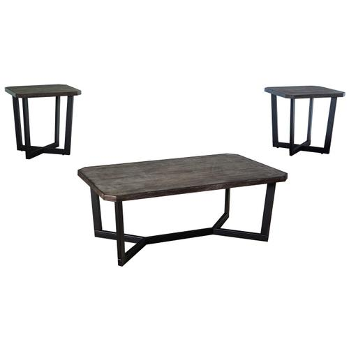 7333 Cocktail and End Table Set
