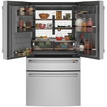 Café ENERGY STAR® 27.8 Cu. Ft. Smart 4-Door French-Door Refrigerator