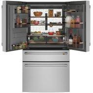 Caf(eback) ENERGY STAR(R) 27.8 Cu. Ft. Smart 4-Door French-Door Refrigerator