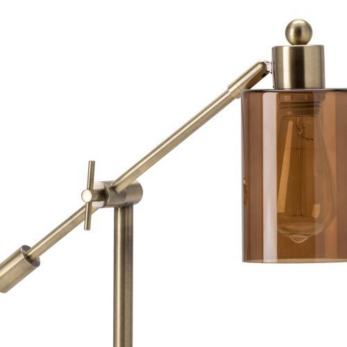 Garrett Adjustable Arm Task Lamp with USB