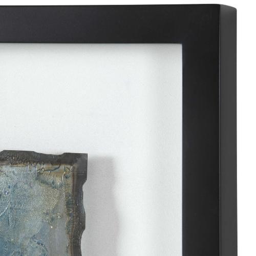 Glimmering Agate Framed Prints, S/2