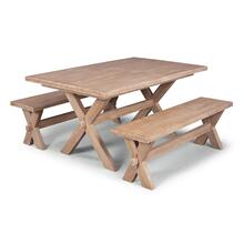 Claire 3 Piece Dining Set