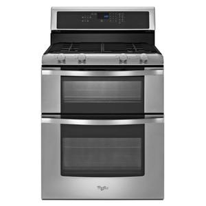 6.0 Total cu. ft. Double Oven Gas Range with AccuBake® system Product Image