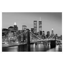 See Details - Manhattan Skyline at Night - Giant Art