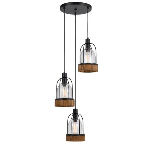 60W X 3 Beacon Glass Pendant(Edison Bulbs Not included)