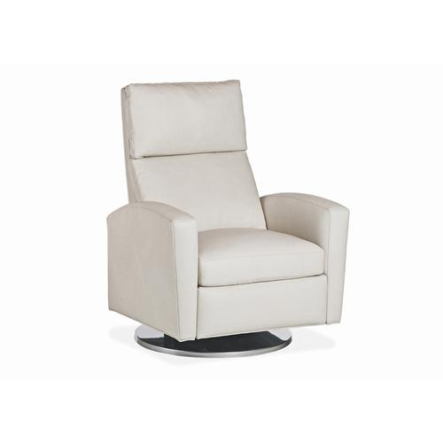 Milo Metal Dome Swivel Recliner