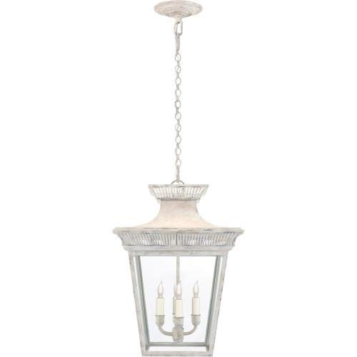 Visual Comfort CHC5050OW-CG E. F. Chapman Elsinore 4 Light 15 inch Old White Hanging Lantern Ceiling Light, Medium