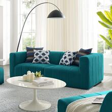 See Details - Bartlett Upholstered Fabric 2-Piece Loveseat in Teal