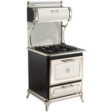 """View Product - White 30"""" Classic Gas Range - Model 9200"""