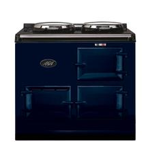 Dark Blue 2-Oven AGA Cooker (electric) Electric fuelled cast-iron cooker