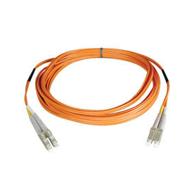Duplex Multimode 62.5/125 Fiber Patch Cable (LC/LC), 25M (82 ft.)