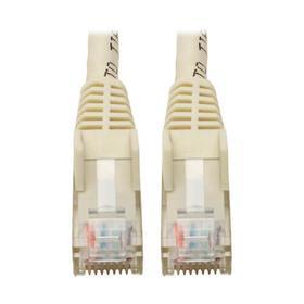 Cat6 Gigabit Snagless Molded (UTP) Ethernet Cable (RJ45 M/M), White, 6-in. (15.24 cm)