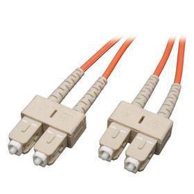 Duplex Multimode 50/125 Fiber Patch Cable (SC/SC), 3M (10 ft.)