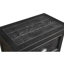 Emerald Home Warwick 2 Drawer Nightstand Cracked Pepper B836-04
