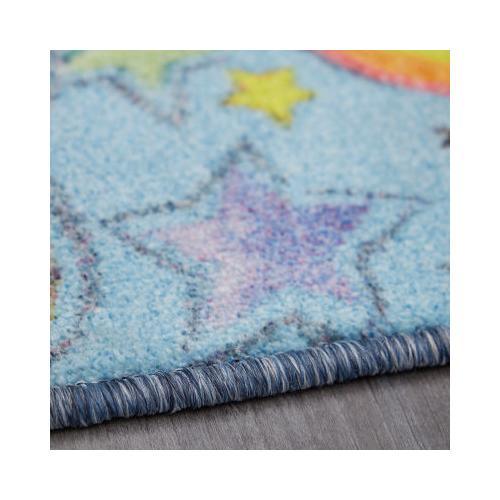Mohawk - Unicorn Wish, Sky Blue- Rectangle