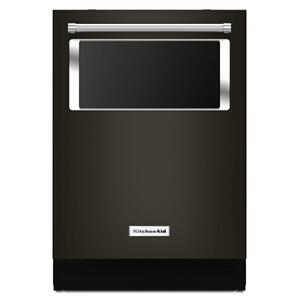 KitchenAid44 dBA Dishwasher with Window and Lighted Interior - Black Stainless Steel with PrintShield™ Finish