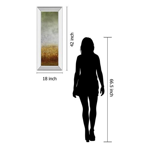 """Lush Field I"" By John Butler Mirror Framed Print Wall Art"