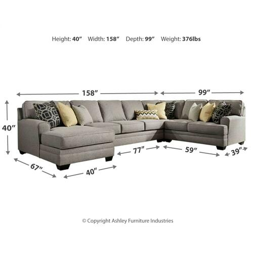 Cresson 4-piece Sectional With Chaise