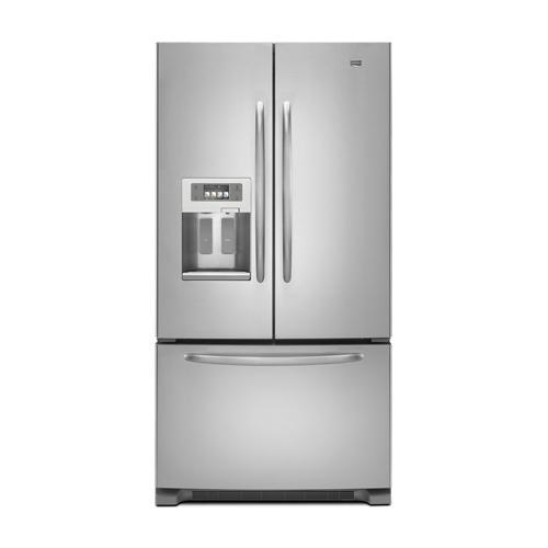 Maytag - 27 cu. ft. Maytag® Ice2O® French Door Bottom-Freezer Refrigerator
