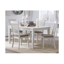 Rect Dining Room Ext Table With 6 Chairs