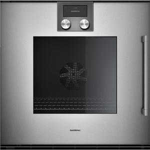 Gaggenau200 Series Oven 24'' Door Hinge: Left, Door Hinge: Left, Gaggenau Metallic