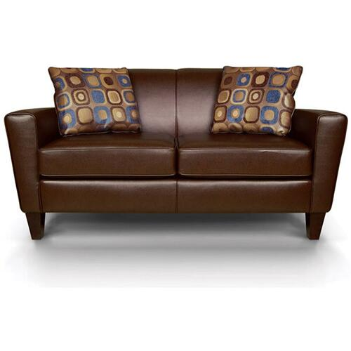Venia Leather Loveseat