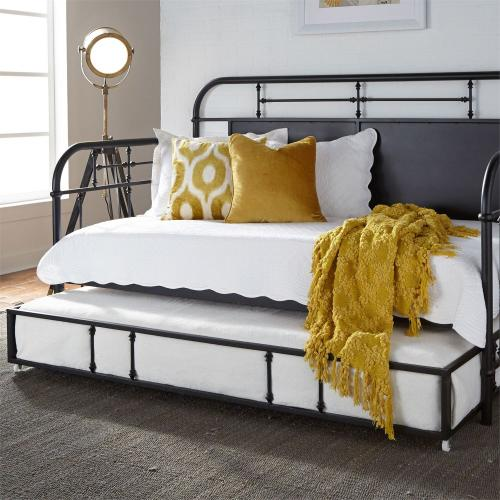 Twin Metal Trundle - Black