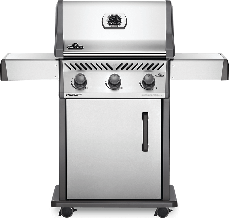 Napoleon BBQRogue Xt 425 Gas Grill , Stainless Steel , Propane