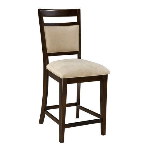 Standard Furniture - Avion 2-Pack Upholstered Barstools, Cherry Brown