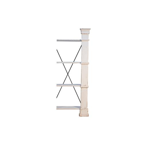 Extender For Bookshelf, White