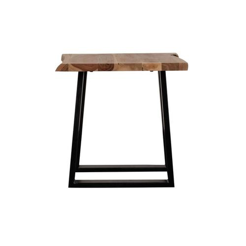 Manzanita Natural Acacia End Table with Different Bases, VCA-ET24N