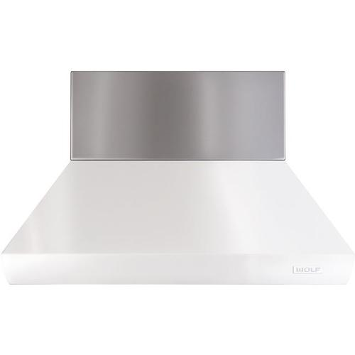 """48"""" Pro Chimney Hood - 12"""" Duct Cover"""