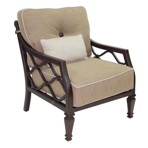 Castelle - Villa Bianca Cushioned Lounge Chair